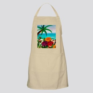 Tropical Floral Beach Apron