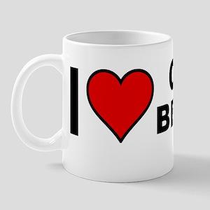 I Love Old Beaver Mug