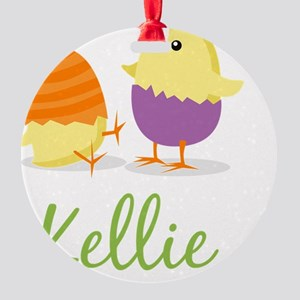 Easter Chick Kellie Round Ornament