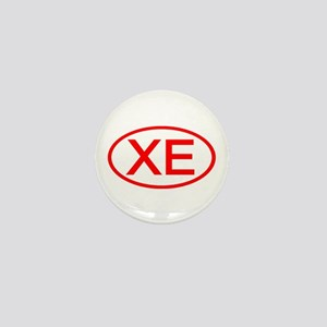 XE Oval (Red) Mini Button