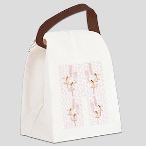 ballerinas Canvas Lunch Bag