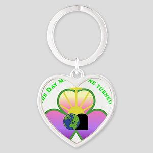 Charmed Fortune Heart Keychain