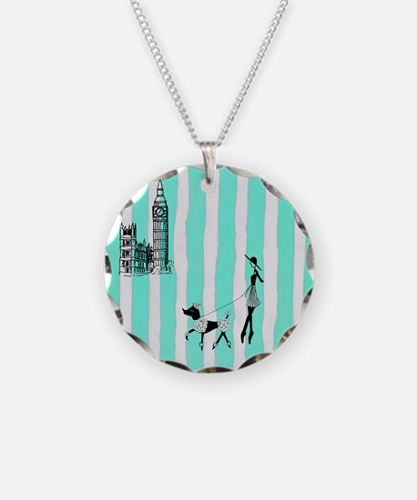A walk in London Turquoise Necklace