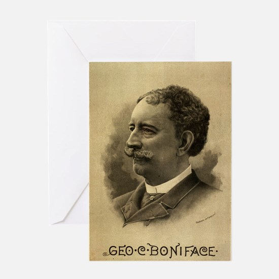 Geo C Boniface - Courier - 1890 Greeting Cards