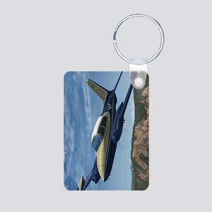 Songbird_441_H_F Aluminum Photo Keychain