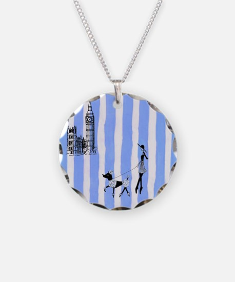 A walk in London, England Necklace