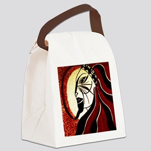 Lion Shaman Canvas Lunch Bag
