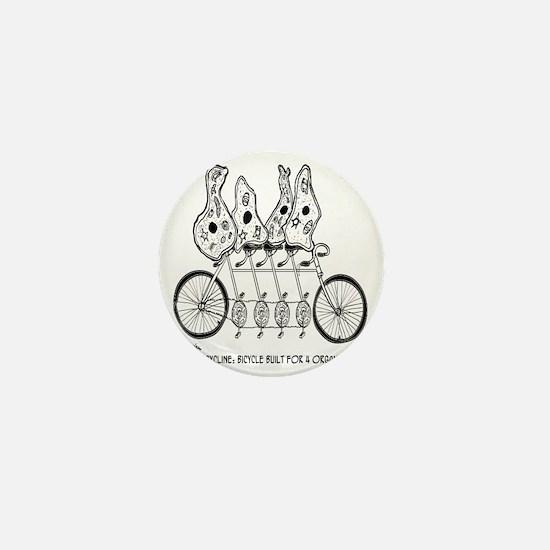 Tetracycline: Bike Built For Four Mini Button
