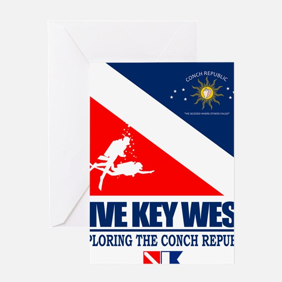 Dive Key West Greeting Card