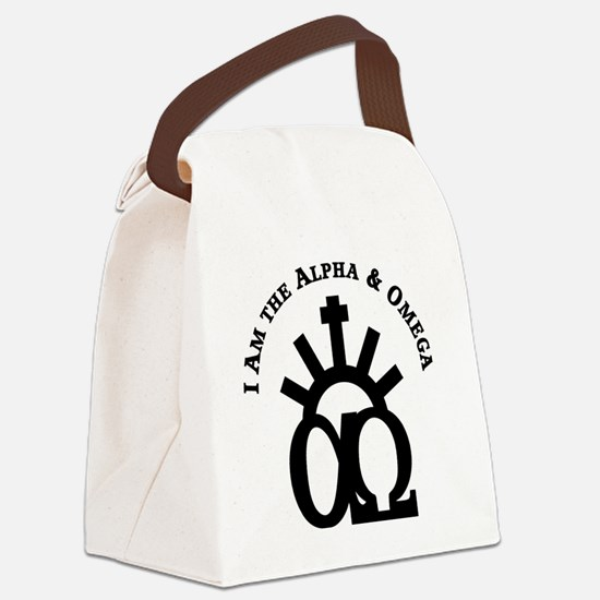 The Alpha & Omega Canvas Lunch Bag