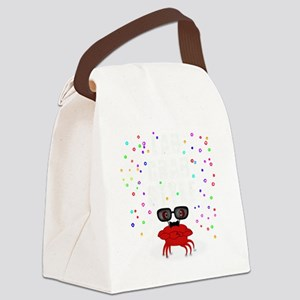 Lab Crab Style Canvas Lunch Bag