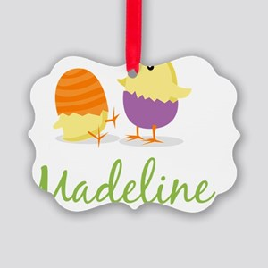 Easter Chick Madeline Picture Ornament