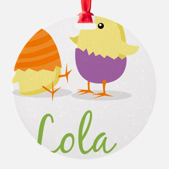 Easter Chick Lola Ornament