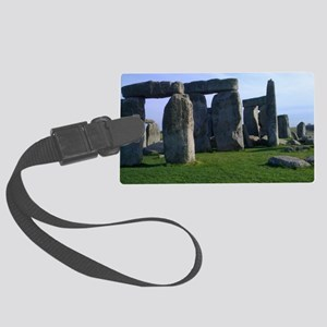 Stone Henge Large Luggage Tag