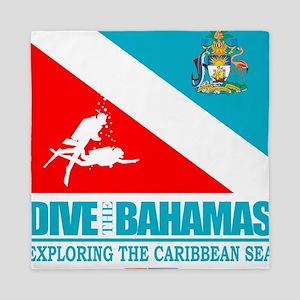 Dive Bahamas Queen Duvet