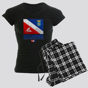 Dive Bonaire Women's Dark Pajamas