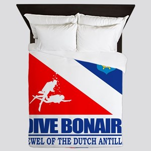 Dive Bonaire Queen Duvet