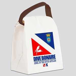 Dive Bonaire Canvas Lunch Bag