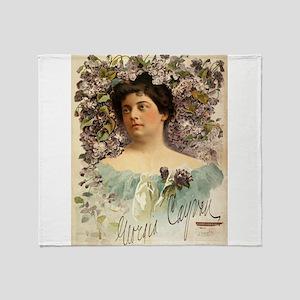 Georgia Cayvan - J Ottmann Lith - 1901 Throw Blank