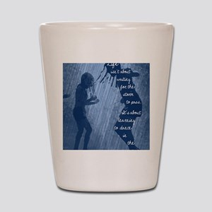 Dancing in the Rain Shot Glass