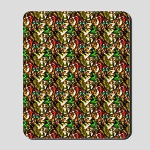 Jewelled Leaves Mousepad