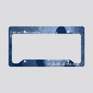 Dancing in the Rain License Plate Holder