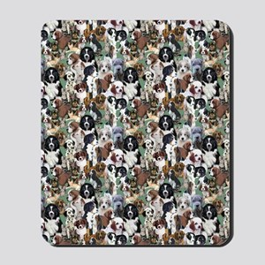 puppies and kittens Mousepad