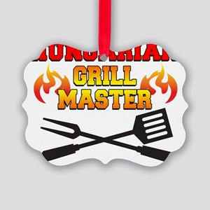Hungarian Grill Master Picture Ornament