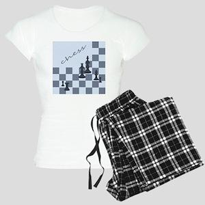 Chess King Pieces Women's Light Pajamas