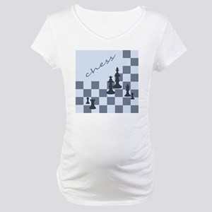 Chess King Pieces Maternity T-Shirt