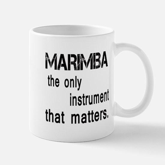 Marimba the only instruments tha Mug