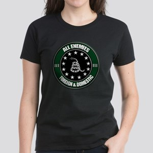 All Enemies Women's Dark T-Shirt