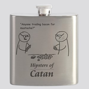 Hipsters of Catan Flask