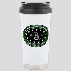 All Enemies Stainless Steel Travel Mug