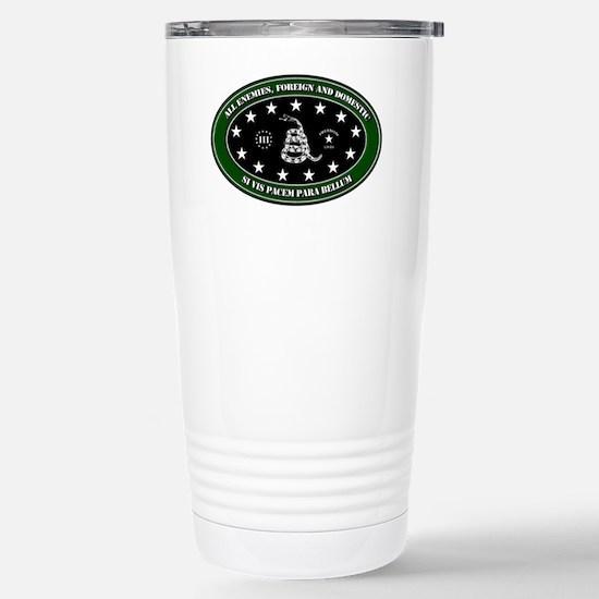 All Enemies Stainless Steel Travel Mug