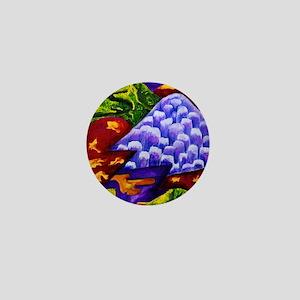 Dragonland - Green Dragons  Blue Ice M Mini Button