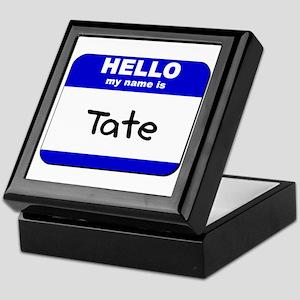 hello my name is tate Keepsake Box