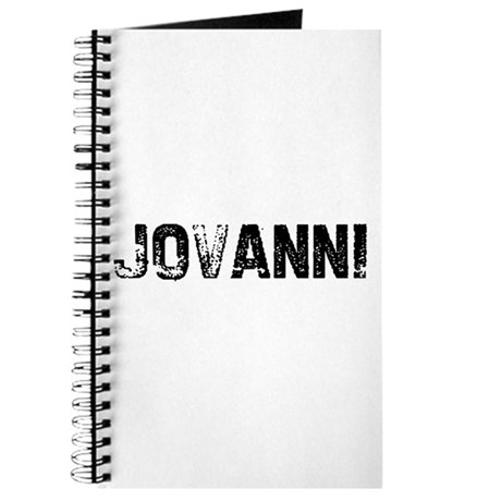 Jovanni Journal