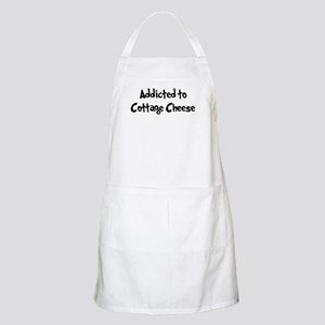 Addicted to Cottage Cheese BBQ Apron