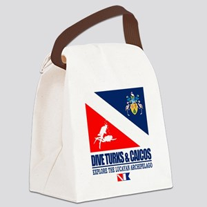 Dive Turks  and Caicos Canvas Lunch Bag