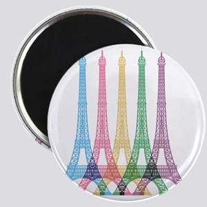 Eiffel Tower Pattern Magnet