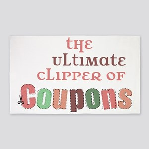 The Ultimate Clipper 3'x5' Area Rug