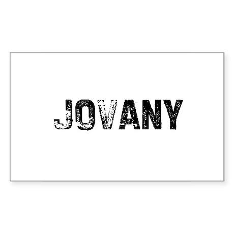Jovany Rectangle Sticker