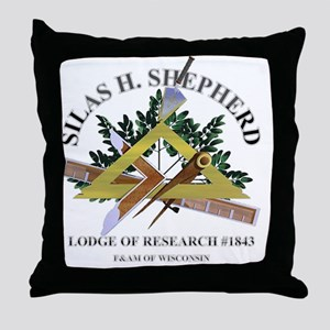 sILAS h. sHEPHERD lODGE OF rESEARCH Throw Pillow