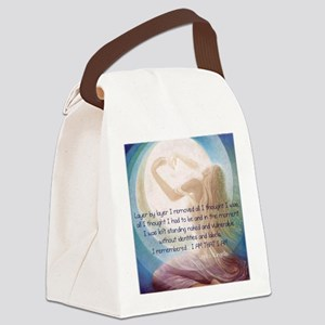 Words of Wisdom 4 Canvas Lunch Bag