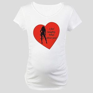 naughty devil Maternity T-Shirt