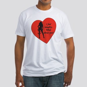 naughty devil Fitted T-Shirt