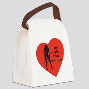 naughty devil Canvas Lunch Bag
