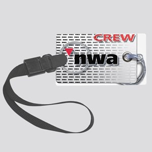 Northwest Airlines Crew Tag Large Luggage Tag