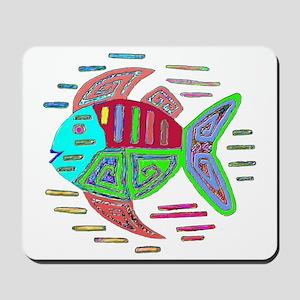 FISH MOLA DESIGN Mousepad